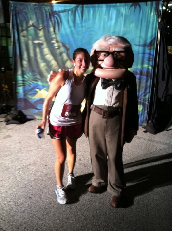 "Stopped for a picture with Carl from ""Up""!"