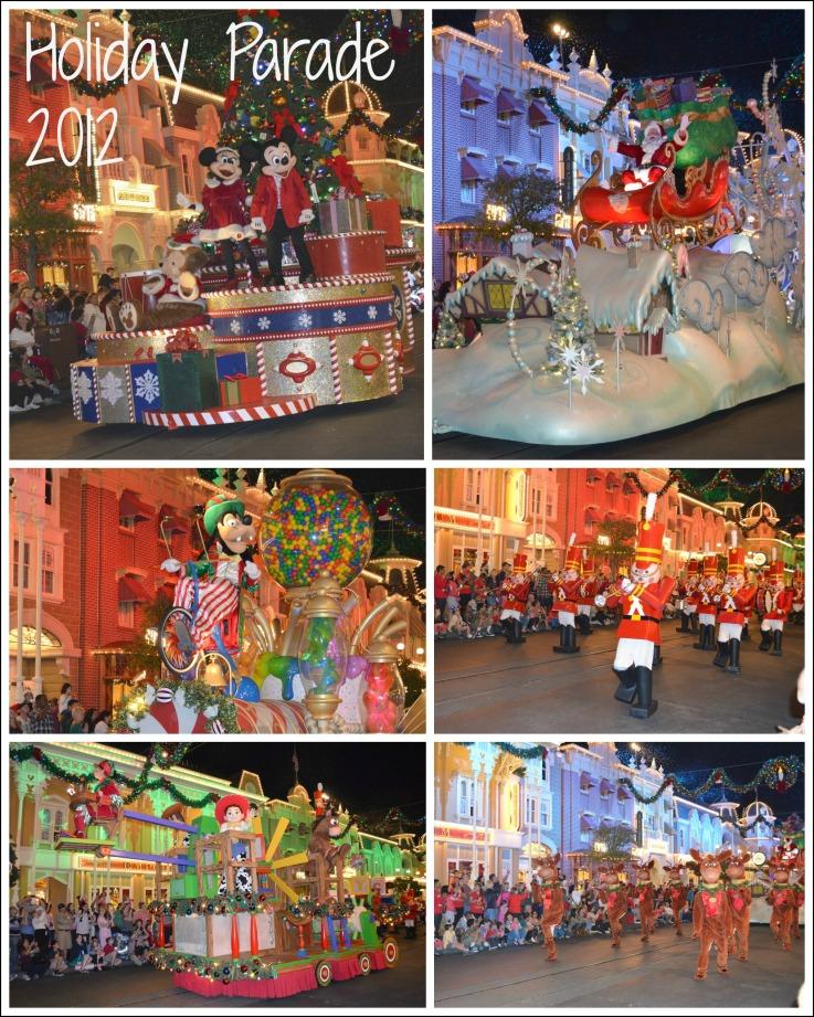 Disney Holiday Parade