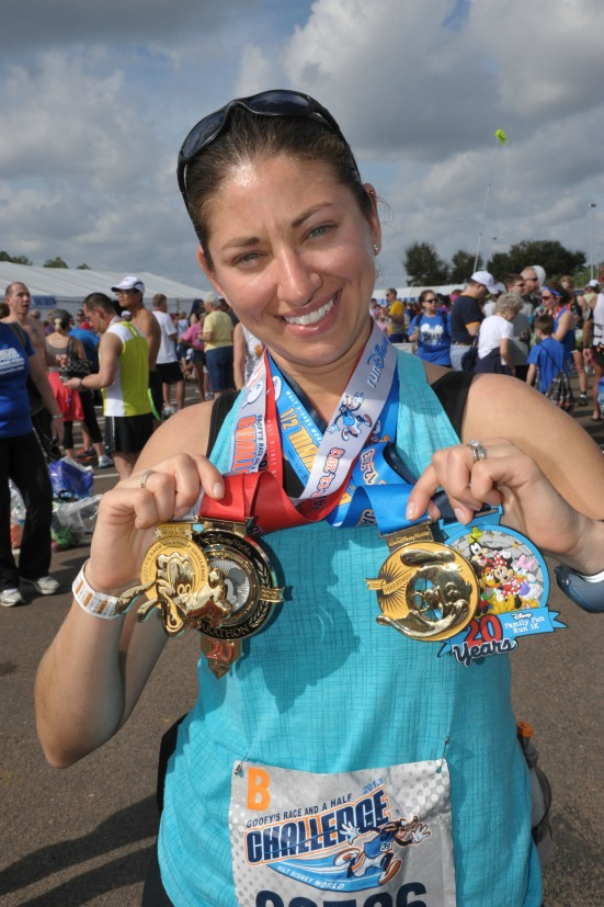 Goofy Medal Pic Danielle