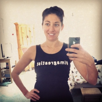 I will be wearing my #imagreatist tank for either the 5k or half though so keep an eye out for me!