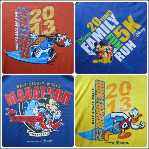 All four race shirts!
