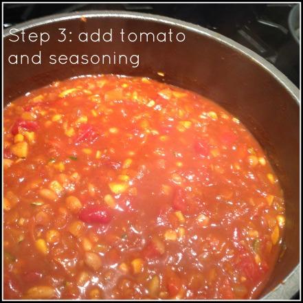 Chili Step #3