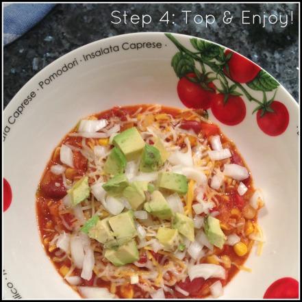 Chili Step #4