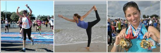 Run & Yoga Collage