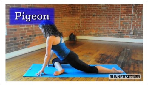 Runners World Pigeon Pose