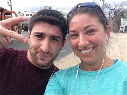 Running with Fabio