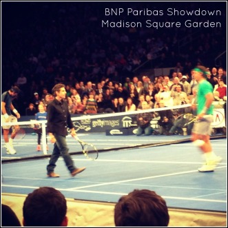 Apparently Ben Stiller and Rafael Nadal are doubles partners!