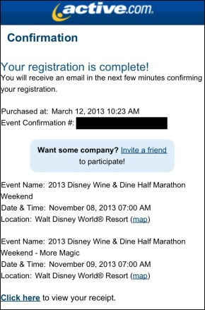 Wine & Dine Registration