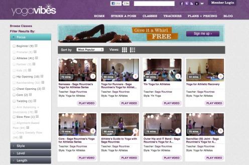 Yoga Vibes Screen Shot