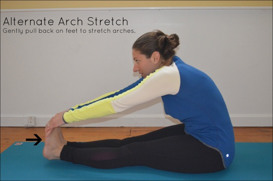 Alternate Arch Stretch