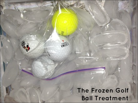 Frozen Golf Balls