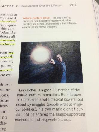Harry Potter Nature Nurture