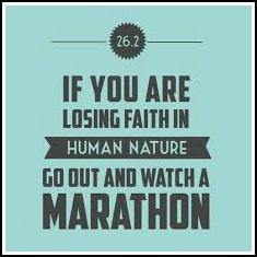 Losing Faith Marathon Quote
