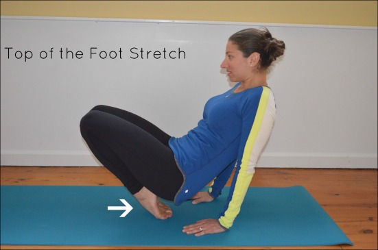Top of the Foot Stretch