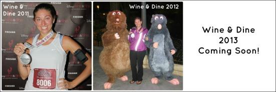 Wine & Dine Timeline
