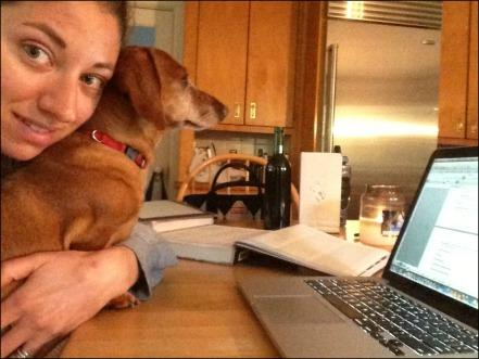 Madison Studying
