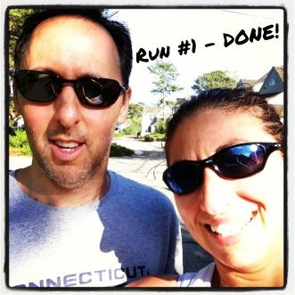 Run #1 Done