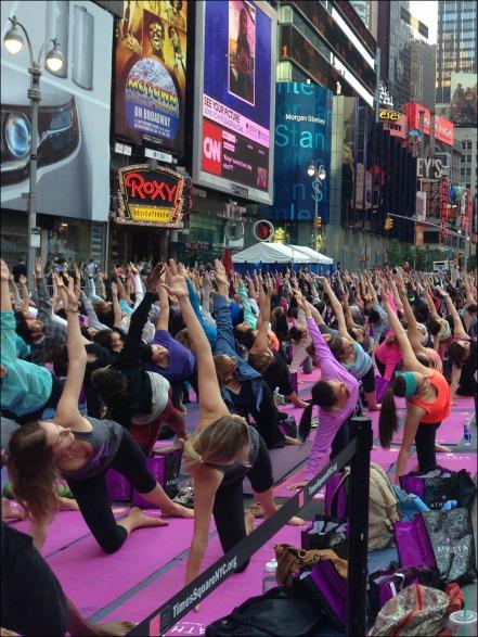 Times Square Yoga 1