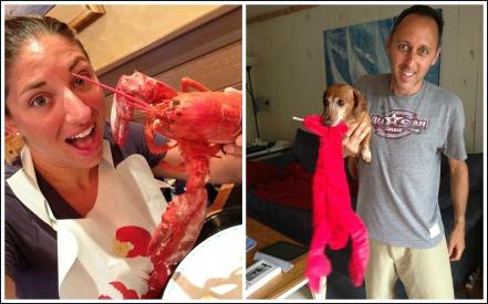 Birthday Lobsters