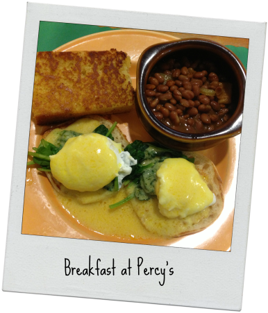 Breakfast at Percys