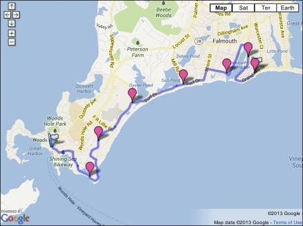 Falmouth RR Course