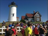 Falmouth Road Race: The Run