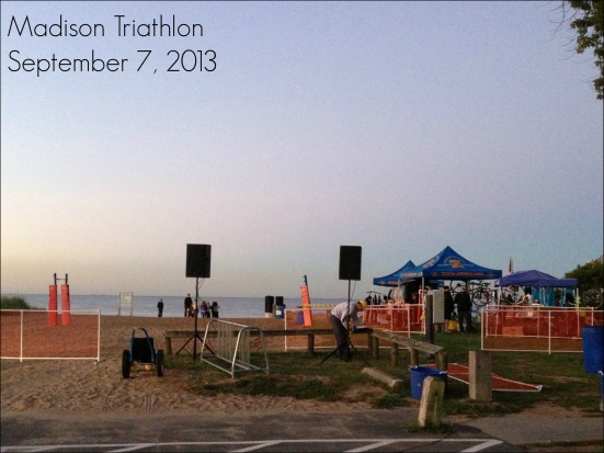 Madison Triathlon Beach