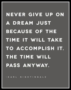 Never Give Up Quote Big