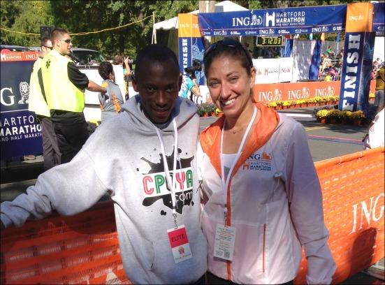 HMF Half Marathon Winner
