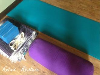 Restorative Yoga Props