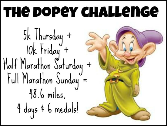 Dopey Challenge Graphic