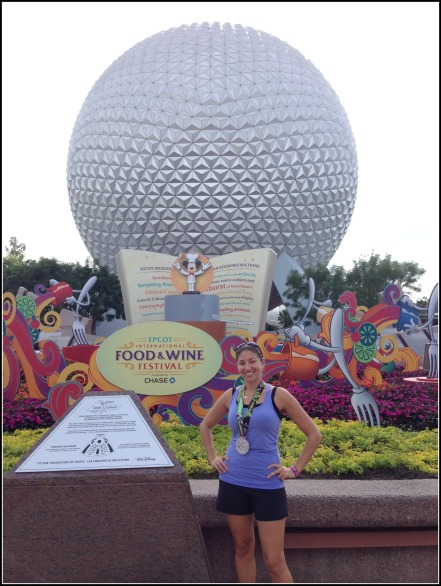 Epcot Medal Photo
