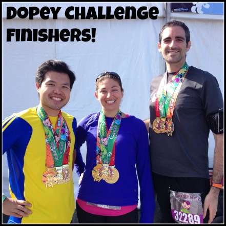 Dopey Challenge Finishers