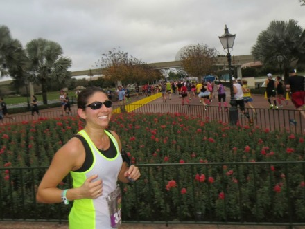 Half Running Through Epcot