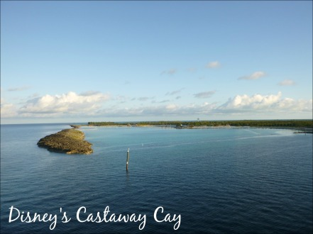Castaway Cay Pulling In