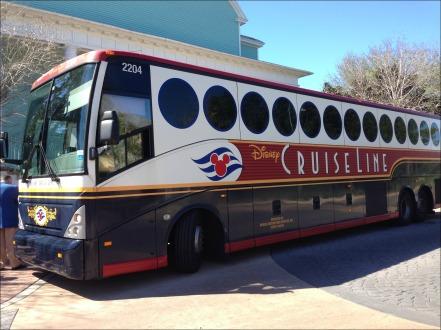 Cruise Line Bus