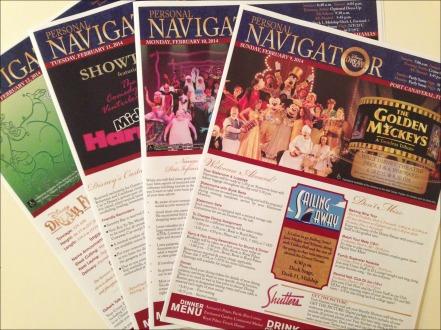 Disney Cruise Line Navigators