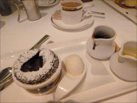 Palo Chocolate Souffle