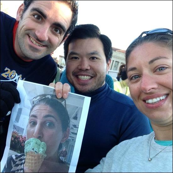Pre-Race Corral Selfie