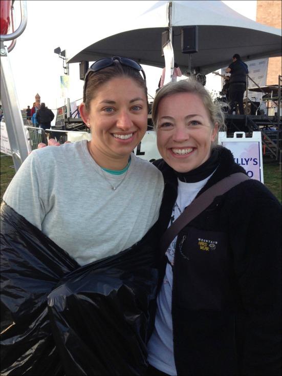 Pre-Race with Christine