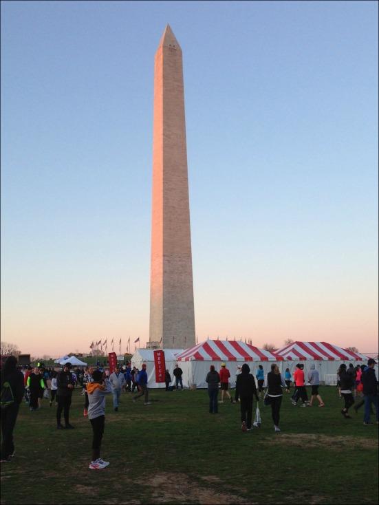 Washington Monument Pre-Race