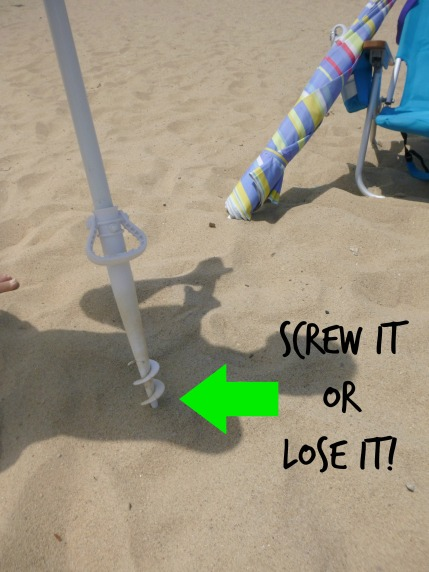 Beach Post - Umbrella Screw