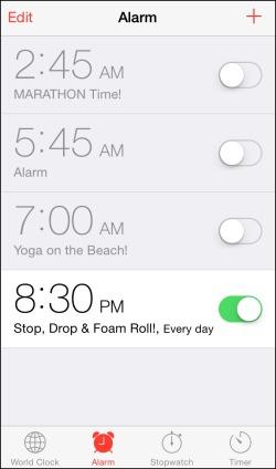 Cape Cod Foam Roll Alarm