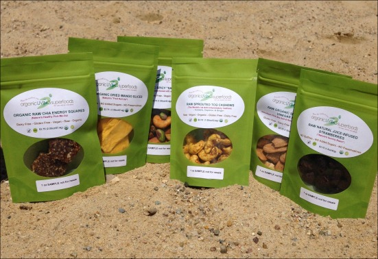 Organic Living Superfoods Samples
