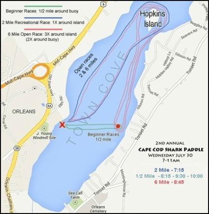 SUP Race Map
