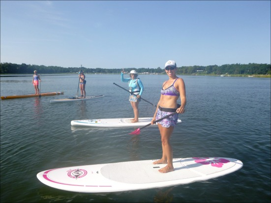 CC Shark Paddle with Nancy