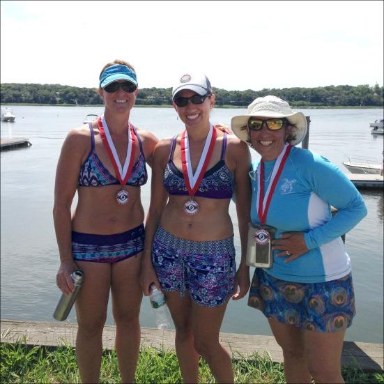 CC Shark Paddle Yoga Ladies