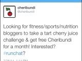 The Cheribundi 7-Day CherryChallenge