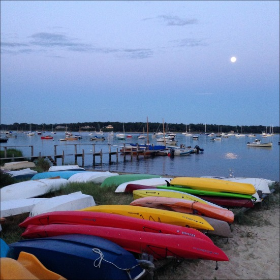 Full Moon Paddle Before