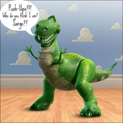 Rex Push Ups